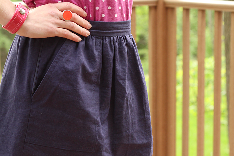 Cali Faye Collection Pocket skirt featured thumbnail