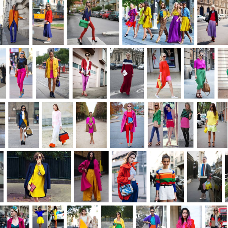 color-blocking tips street style search