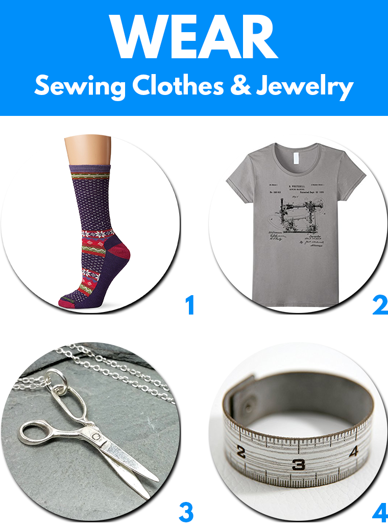 Wear Gifts for Sewing Lovers Sie Macht 2