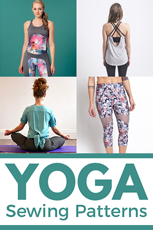 Sie Macht sewing patterns for yoga clothes Sidebar