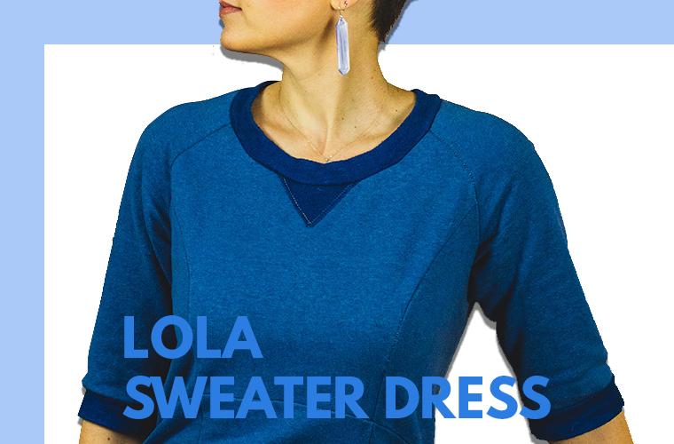 Lola Sweater Dress Sie Macht Featured Photo