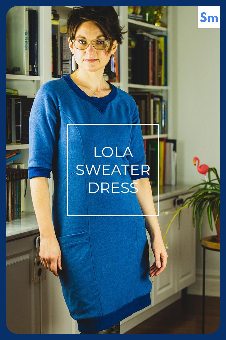 Lola Sweater Dress Sie Macht Hero