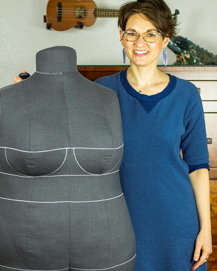 DIY Dress Form Sie Macht BFFs Serious