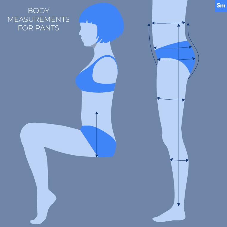 Flat Pattern Measuring Sie Macht Pants Body Measurements