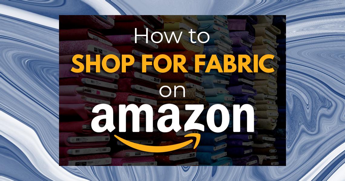 Amazon Fabric Shopping Sie Macht Slider