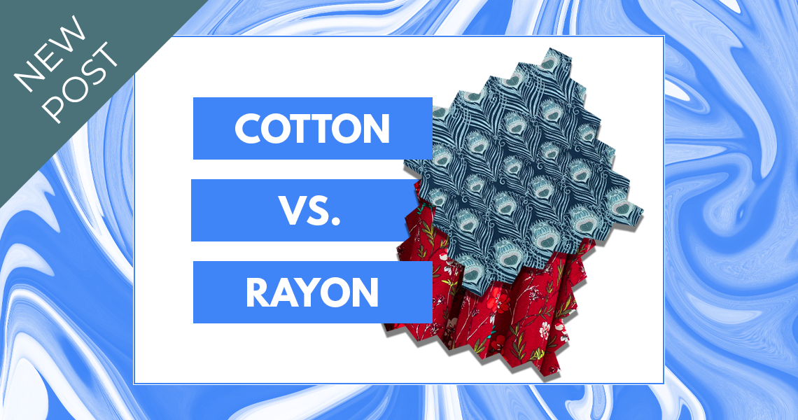Cotton vs. Rayon Sie Macht Slider
