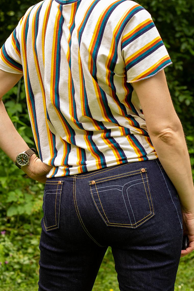 Cass Ginger Sie Macht Back Pockets